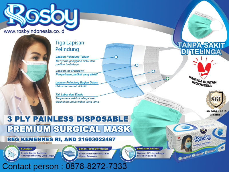 3 Ply Painless Rosby Painless Premium Np