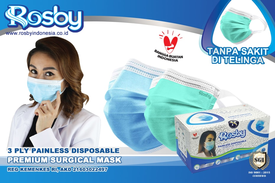 Masker Rosby Painless