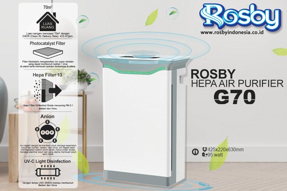 Rosby Hepa Air Purifier G70