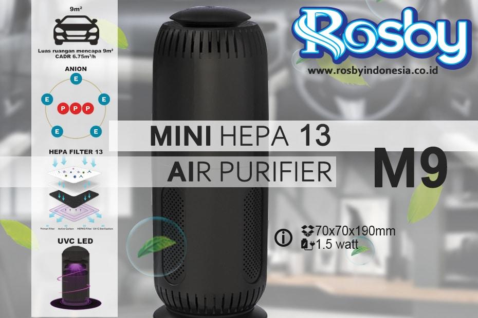 Rosby Hepa Car Air Purifier M9